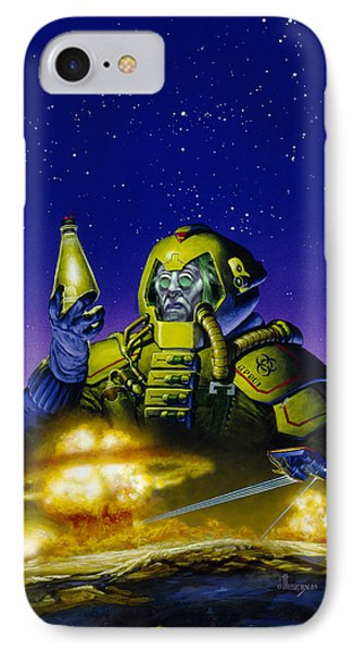 Planet Wars IPhone Case by Richard Hescox