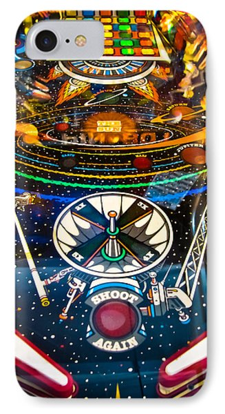 Play Pinball IPhone Case by Colleen Kammerer