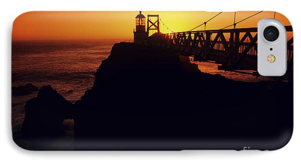 Point Bonita Lighthouse IPhone Case by Brent Black - Printscapes