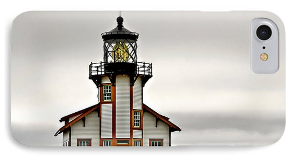 Point Cabrillo Lighthouse California IPhone Case by Christine Till