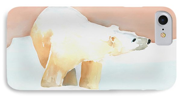 Polar Bear IPhone 7 Case by Arline Wagner