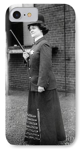 Policewoman, 1909 Phone Case by Granger
