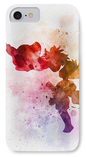 Ponyo IPhone Case by Rebecca Jenkins