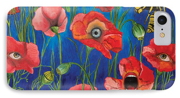 Poppies IPhone Case by John Alekseev