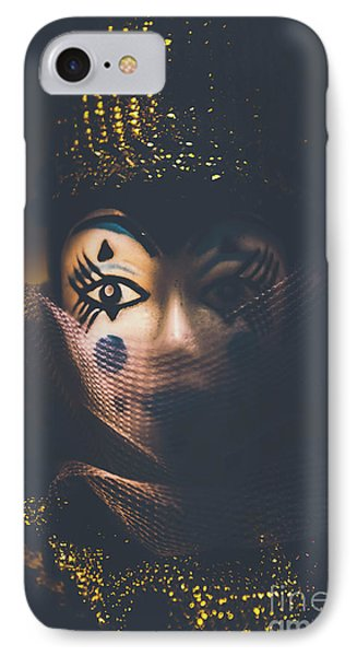 Porcelain Doll. Performing Arts Event IPhone Case by Jorgo Photography - Wall Art Gallery