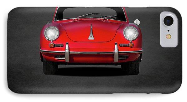 Porsche 356 IPhone 7 Case by Mark Rogan