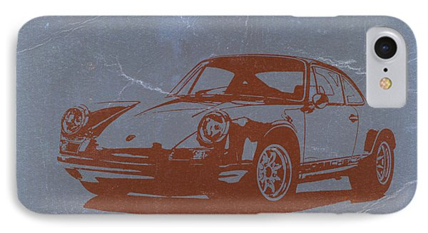 Porsche 911 IPhone Case by Naxart Studio