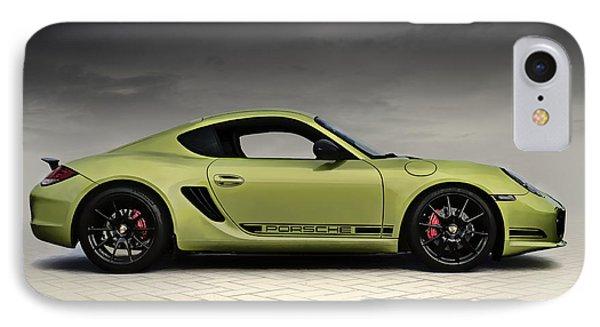 Porsche Cayman R IPhone Case by Douglas Pittman