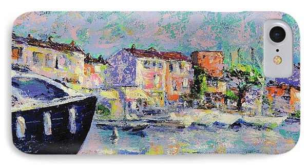 Port Grimaud  IPhone Case by Denys Kuvaiev