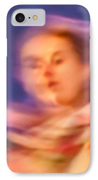 Portrait Of A Lady IPhone Case by Az Jackson
