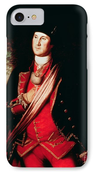 Portrait Of George Washington IPhone 7 Case by Charles Willson Peale