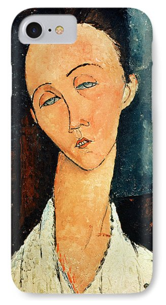 Portrait Of Lunia Czechowska IPhone Case by Amedeo Modigliani