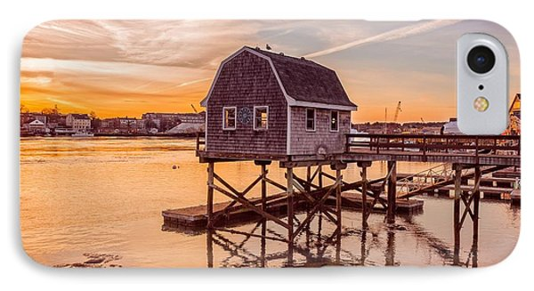 Portsmouth Sunset IPhone Case by Edward Fielding