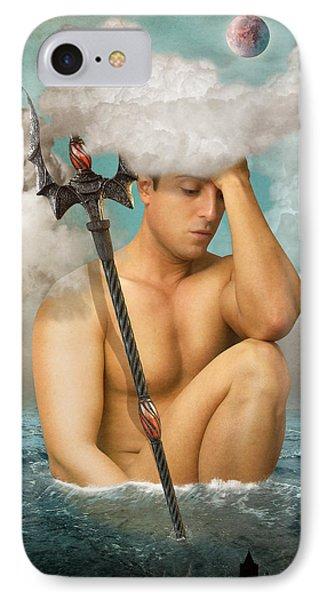 Poseidon 2 IPhone Case by Mark Ashkenazi