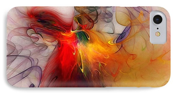 Powers Of Expression IPhone Case by Karin Kuhlmann