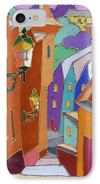 Prague Old Steps Winter IPhone Case by Yuriy  Shevchuk