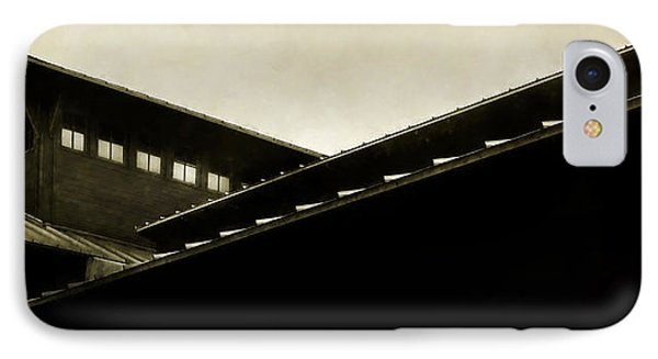 Prairie Lines IPhone Case by Scott Norris