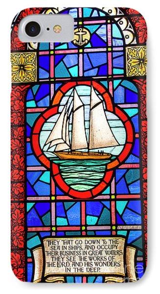 Prayer At Sea IPhone Case by Juli Scalzi