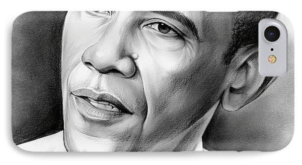 President Barack Obama IPhone 7 Case by Greg Joens