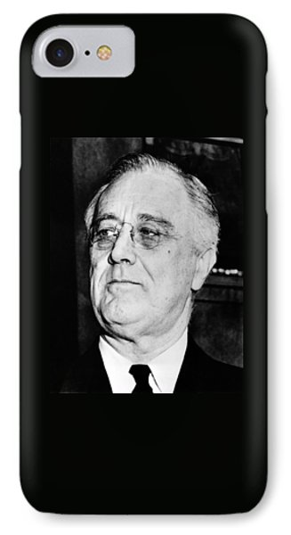 President Franklin Delano Roosevelt IPhone Case by War Is Hell Store
