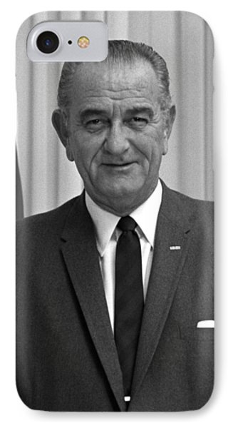 President Lyndon Johnson Phone Case by War Is Hell Store