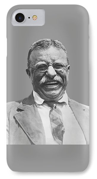 President Teddy Roosevelt IPhone Case by War Is Hell Store