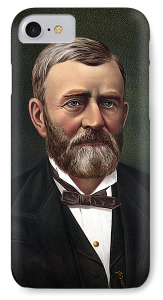 President Ulysses Grant IPhone Case by War Is Hell Store