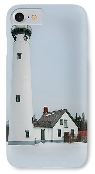 Presque Isle Lighthouse Phone Case by Michael Peychich