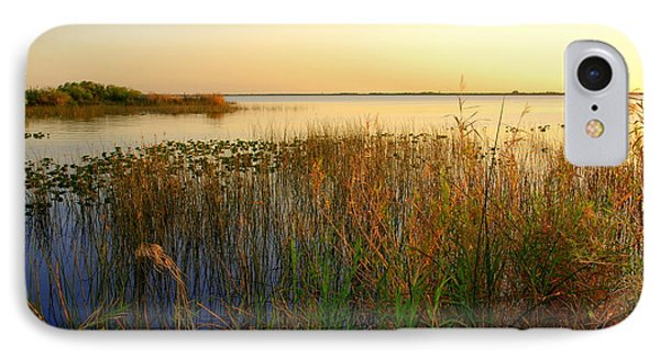 Pretty Evening At The Lake Phone Case by Susanne Van Hulst