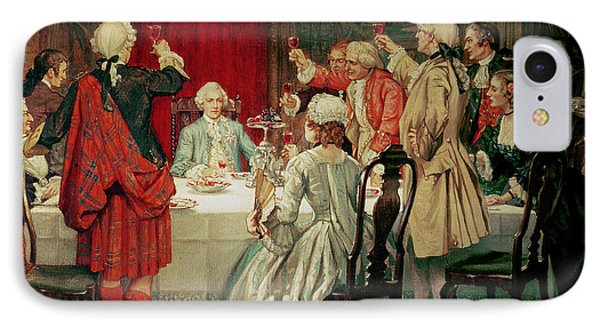 Prince Charles Edward Stuart In Edinburgh IPhone Case by William Brassey Hole