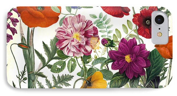 Printemps Garden IPhone Case by Mindy Sommers
