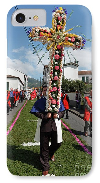 Procession In Furnas - Azores Phone Case by Gaspar Avila