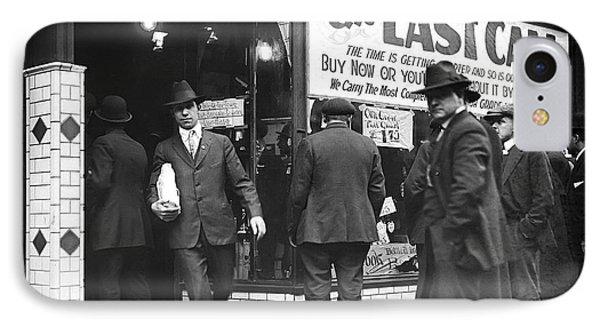 Prohibition Last Call - Detroit - 1919 IPhone Case by Daniel Hagerman