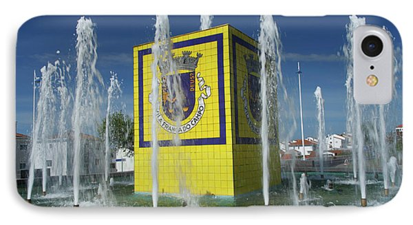 Public Fountain Phone Case by Gaspar Avila
