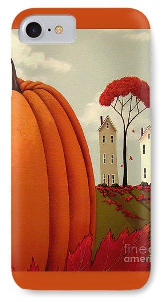 Pumpkin Valley Phone Case by Catherine Holman