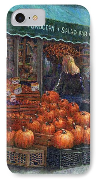 Pumpkins For Sale Phone Case by Susan Savad