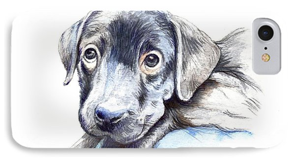Puppy IPhone Case by Morgan Fitzsimons
