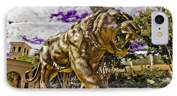 Purple And Gold Phone Case by Scott Pellegrin