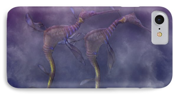 Purple Haze IPhone Case by Betsy Knapp