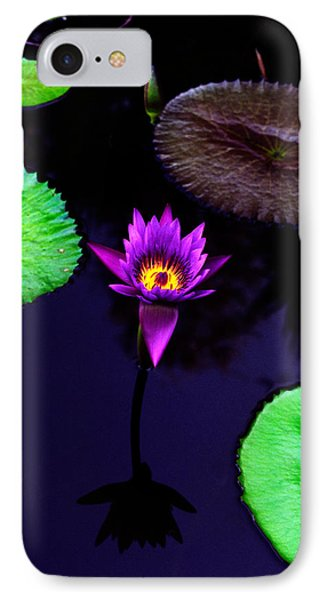 Purple Lily IPhone Case by Gary Dean Mercer Clark