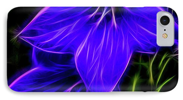 Purple Passion Phone Case by Joann Copeland-Paul