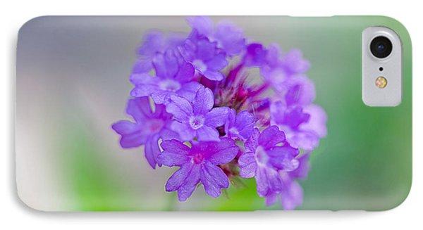 Purple Petals IPhone Case by Az Jackson