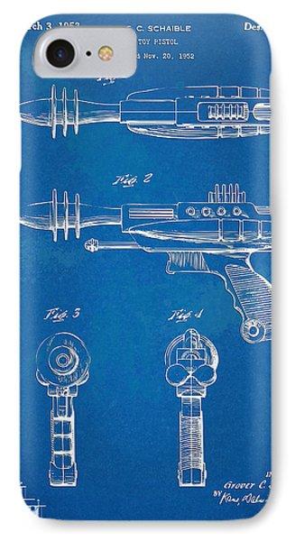 Pyrotomic Disintegrator Pistol Patent Phone Case by Nikki Marie Smith