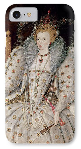 Queen Elizabeth I Of England And Ireland IPhone Case by Anonymous