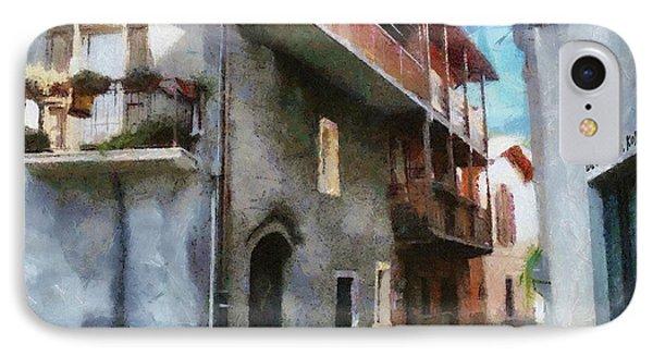 Quiet In Almenno San Salvatore Phone Case by Jeff Kolker