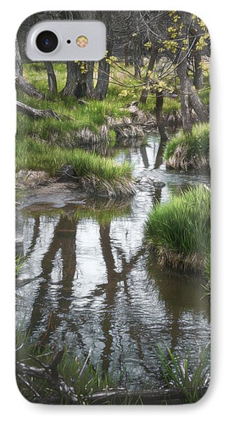 Quiet Stream IPhone Case by Scott Norris