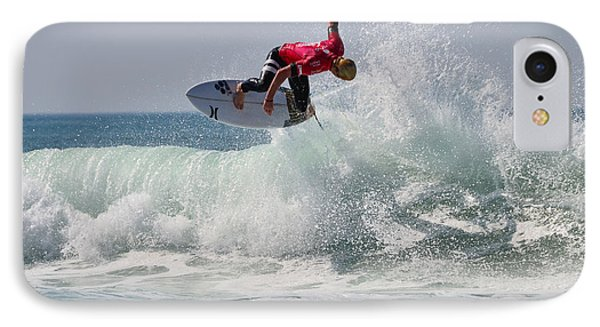 IPhone Case featuring the photograph Quiksilver Pro France II by Thierry Bouriat