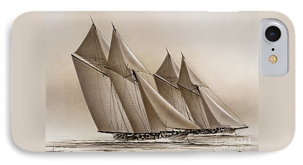 Racing Yachts IPhone Case by James Williamson
