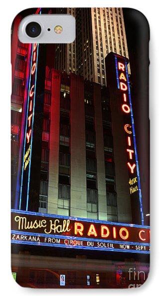 Radio City Music Hall Cirque Du Soleil Zarkana Phone Case by Lee Dos Santos