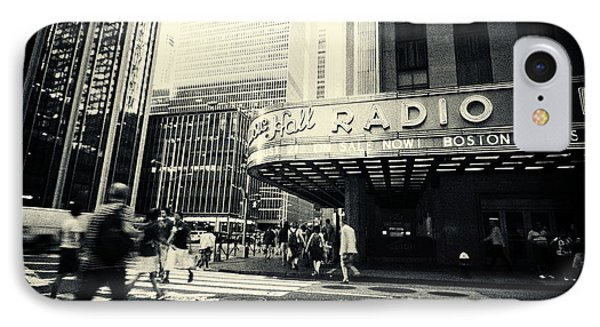 Radio City Music Hall Manhattan New York City IPhone Case by Sabine Jacobs